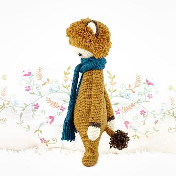 León LONI lalylala patrón de crochet / amigurumi | Etsy