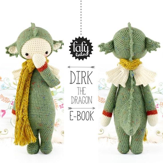 Dragón DIRK lalylala patrón de crochet / amigurumi | Etsy