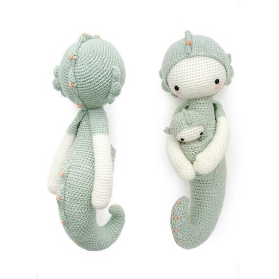 Caballito de mar SEPP lalylala patrón de crochet / amigurumi | Etsy