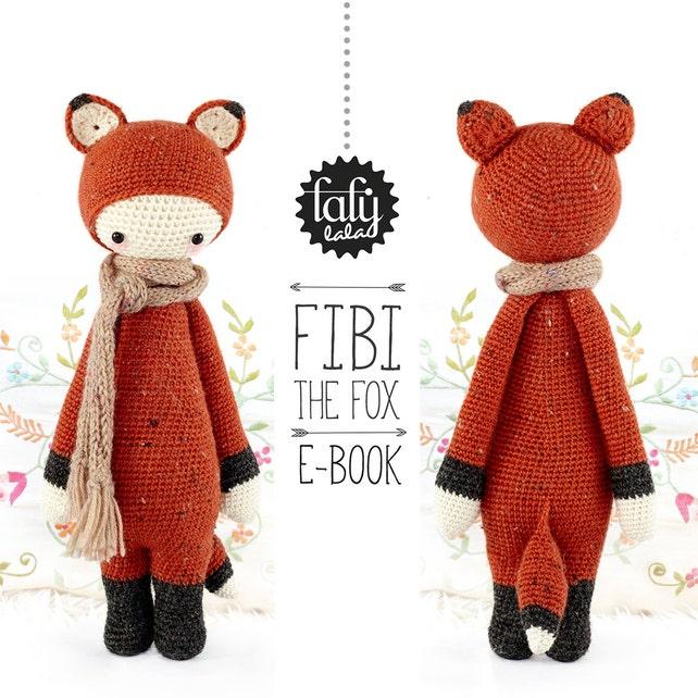 Zorro FIBI lalylala patrón de crochet / amigurumi | Etsy
