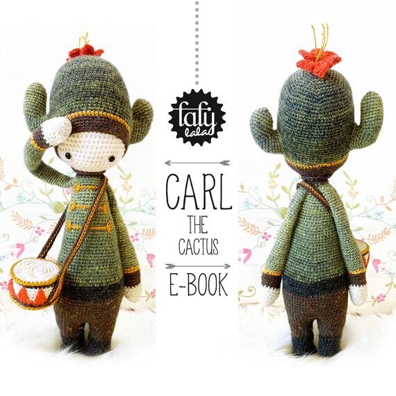 Cactus CARL lalylala patrón de crochet / amigurumi | Etsy