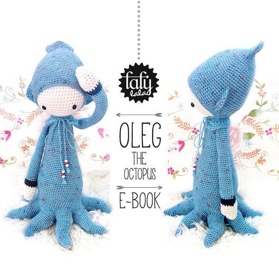 Pulpo OLEG lalylala patrón de crochet / amigurumi | Etsy