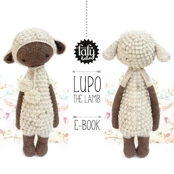 Oveja / corderillo LUPO lalylala patrón de crochet / | Etsy
