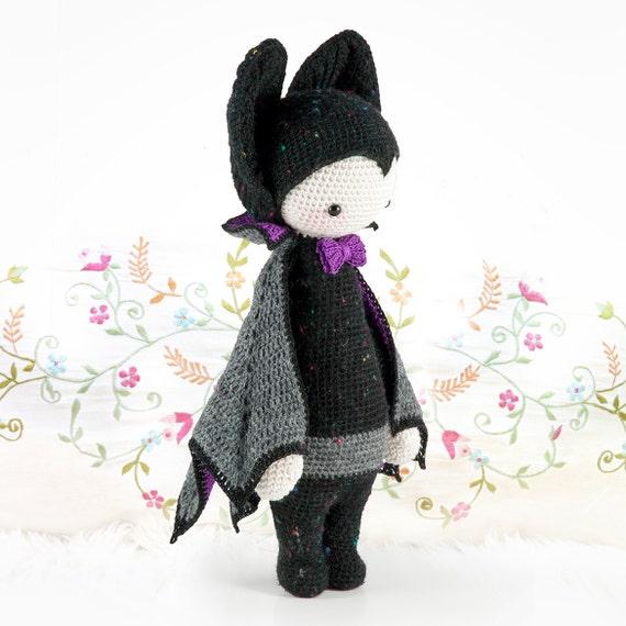 Murciélago vampiro VLAD lalylala patrón de crochet / | Etsy