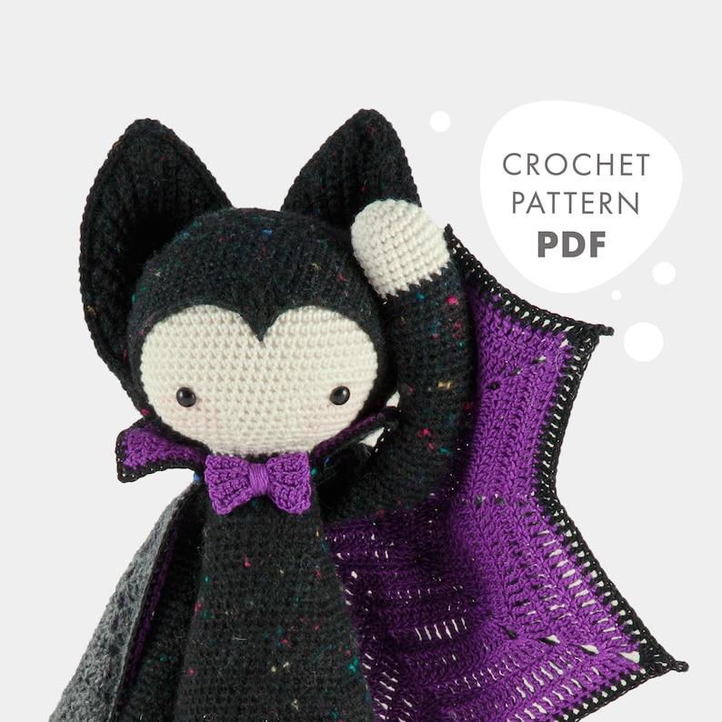 VLAD the vampire bat  lalylala crochet pattern / amigurumi image 0