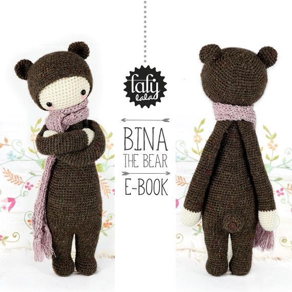 Oso BINA lalylala patrón de crochet / amigurumi | Etsy