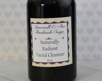 Radiant Botanical Facial Cleanser   Amaranth & Rue   8 oz