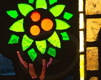 Stain Glass Clip Art, Digital Download Image, Tree Mosaic Photoshop Overlay, Stock Photo, Church Photo, Religious Theme, Notecard Photo