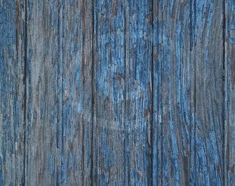 Blue Peeling Paint on Wood, Distress Wood Overlay, Wood Texture Image, Peeling Paint Clip Art, Banner Clip Art, Blog Art, Web Art