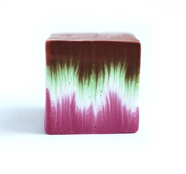 Polymer Clay Cane Millefiori Premo Fimo cane raw and unbaked cane square cane