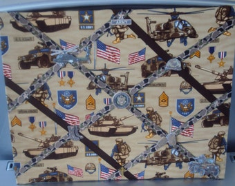 Custom made Army picture board