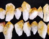 Multipack .5 quot -2 quot Citrine root crystals points yellow quartz gemstone rock stone mineral specimen