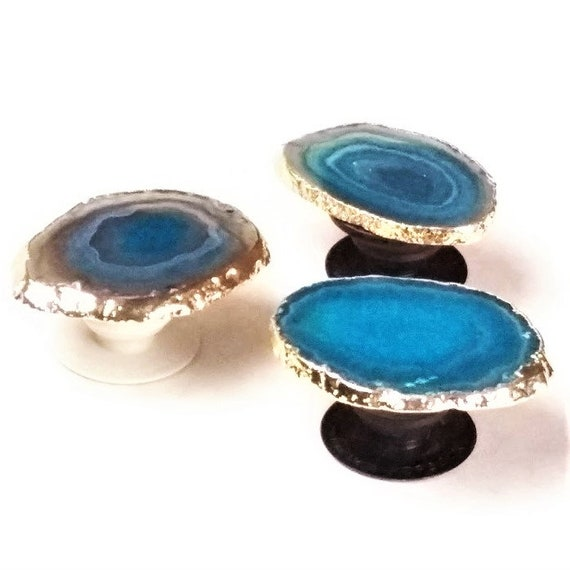 Customized Pop Sockets PURPLE Agate gold  copper plated gemstone Pop Phone grip holder original pop socket black or white posted 6920