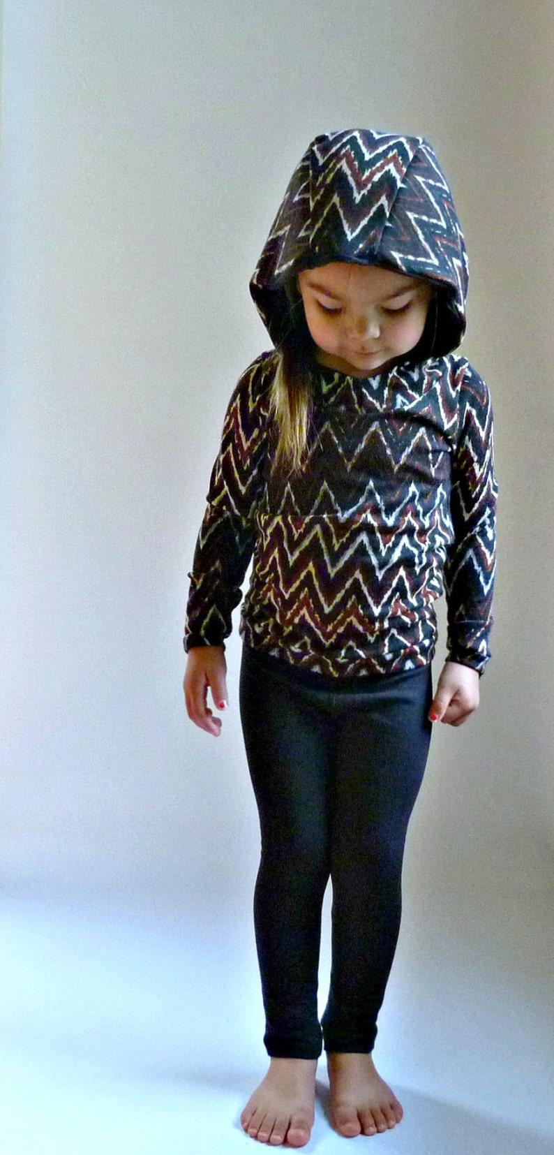 BIMAA Sweater  PDF Sewing Pattern Hoodie Cowl Neck or Shawl image 0