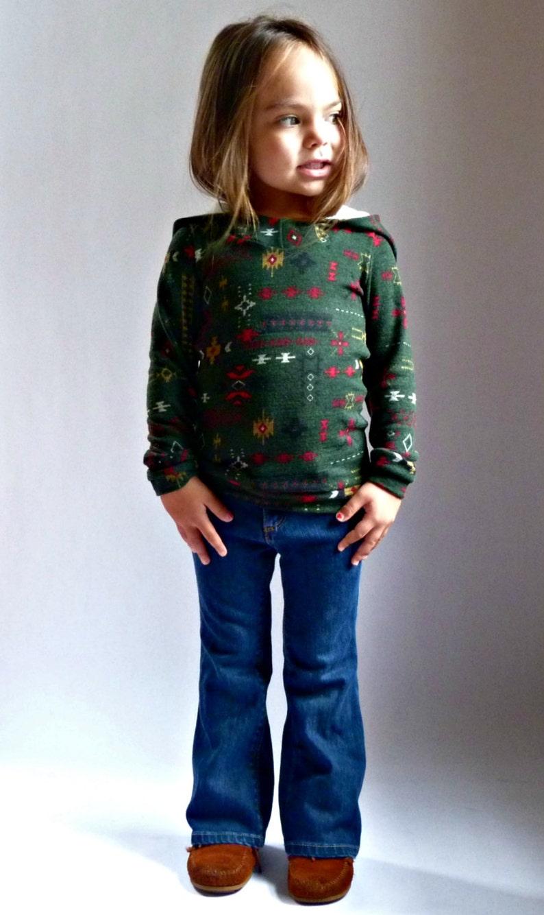 BIMAA Sweater  PDF Sewing Pattern Hoodie Cowl Neck or Shawl image 1