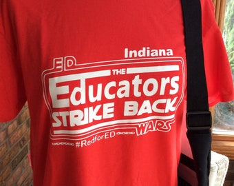 4891a2e88b68 Indiana Educators strike back Red For Ed shirt #redfored #IndianaEducators