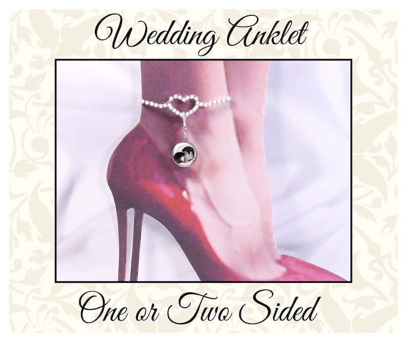 Ankle Bracelet for the Bride Walk With Me & Photo One or image 0
