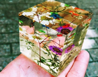 Paperweight flower etsy 2x2 square paperweight mightylinksfo