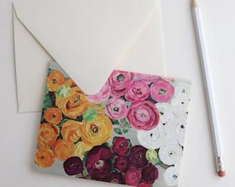 Stationery Gift Box | Ranunculus