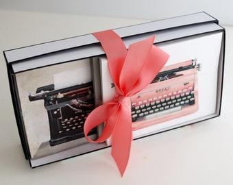Stationery Gift Box | Vintage Typewriters