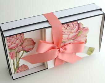 Stationery Gift Box | Peonies