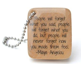 Personalized Teacher Gift English teacher gift college graduation high school graduation inspirational keychain gift going away gift