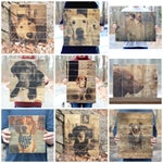 Pallet Photo • Photo to Wood Pet Memorial • Modern Rustic Reclaimed Wood Pet Portrait