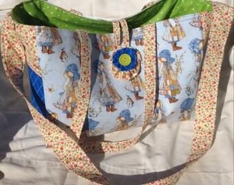 Clearance Handmade Holly Hobby Diaper Bag