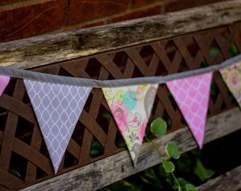 SALE Handmade Shabby Chic Style Banner Bunting Baby Wedding Photography