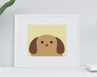 Darby + Dot™ Baby - Doxie Art Print