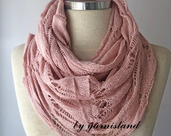Fast delivery, Knit scarf, infinity scarf, chunky Cowl scarf, winter accessories, powder scarf, cowl scarf, chunky scarf, gift for her