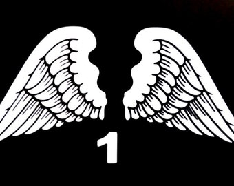 ANGELS WINDS,  Vinyl Decal Stickers