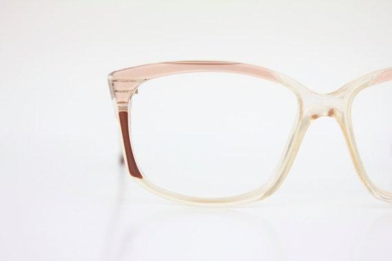 Vintage 70's Layered Cat Eyeglasses Frames