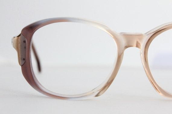 Vintage 70's Fawn Fade Eyeglasses Frames