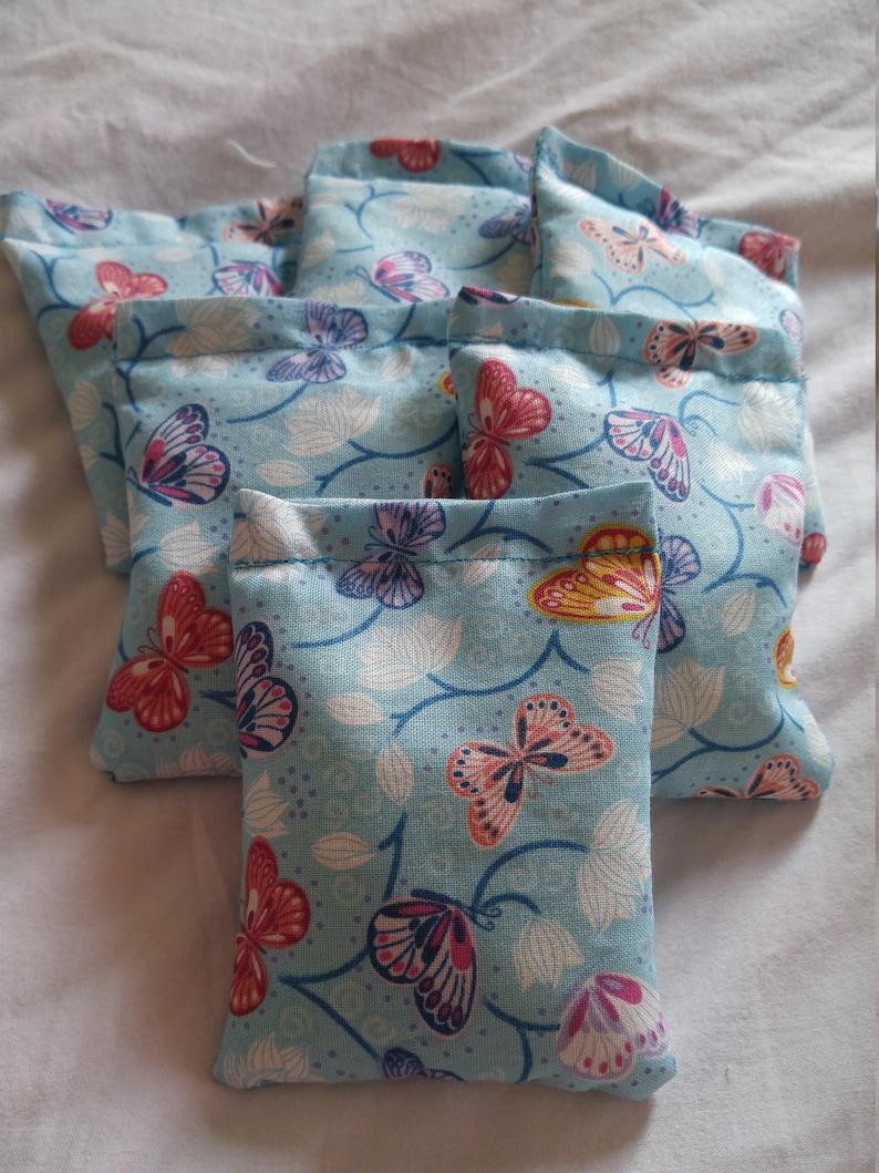Handmade Butterfly Bean Bags Bean Bag Toss Juggling Bags