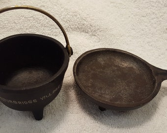 Spider Cast Iron Pan And Wilton Cast Iron Kettle