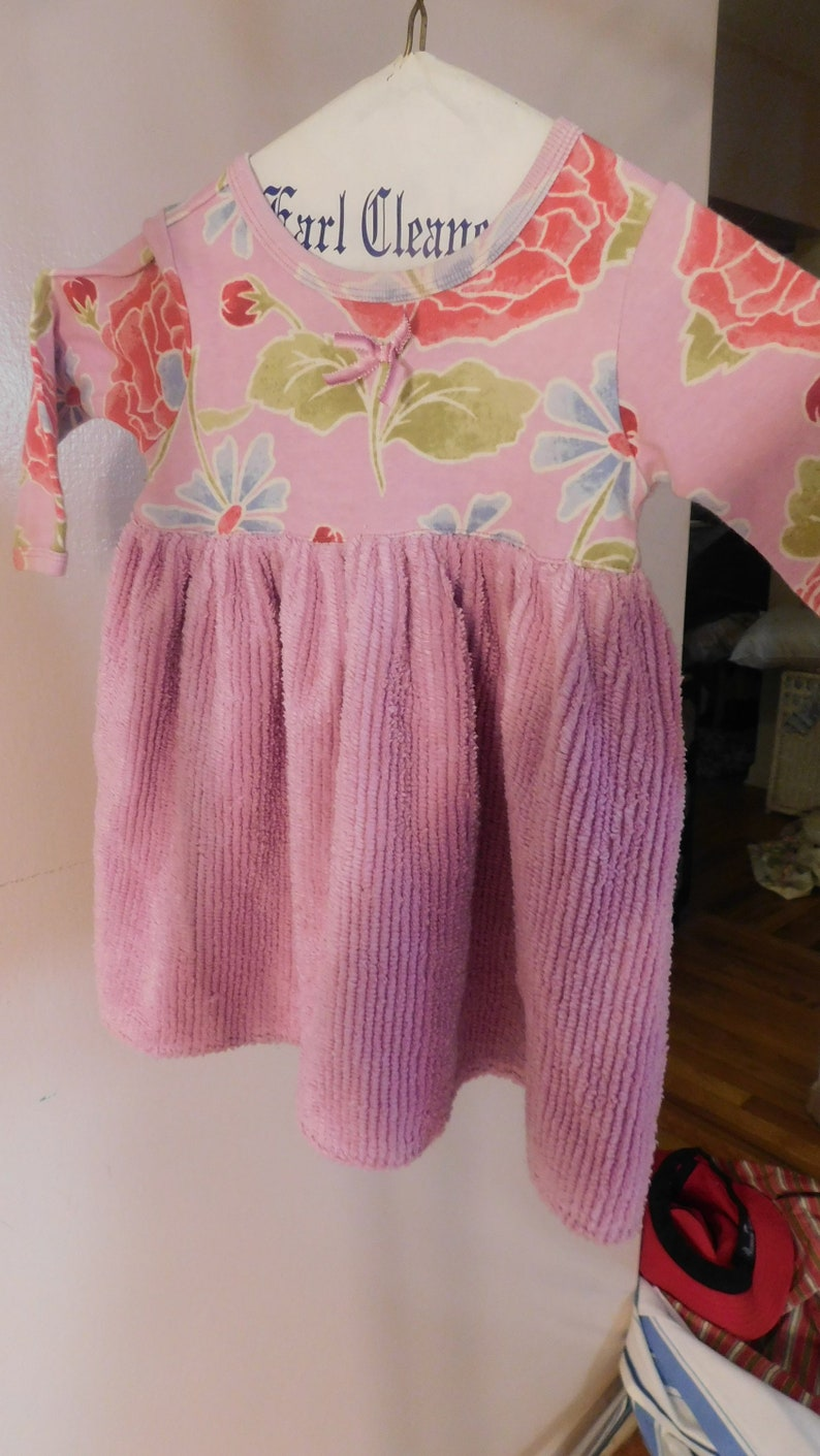 681489fbf Little girl Baby dress Baby Lulu Los Angeles 18 Mo 100% Cotton