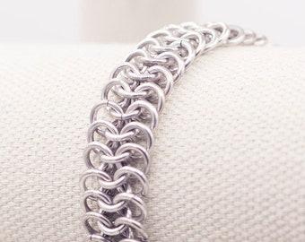 Aluminum Chainmail Bracelet
