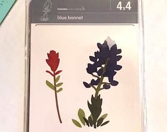 Quickutz Blue Bonnet Flower Die 4X4 - New
