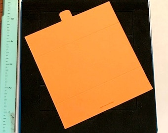 Ellison Self-Closing Gate Fold Card 22208 Thick Cuts Die - Cleaned and Tested