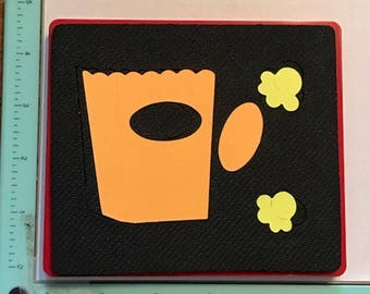 Sizzix Popcorn & Bucket 38-0996  - Cleaned and Tested (No Storage Case)
