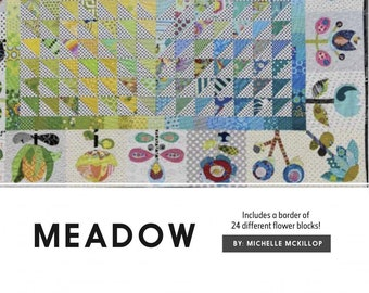 Meadow Quilt Pattern by Michelle McKillop for Jen Kingwell Designs