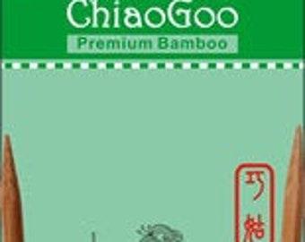 ChiaoGoo Premium Bamboo Knitting Needles - Circular (24 INCH) - Various Sizes