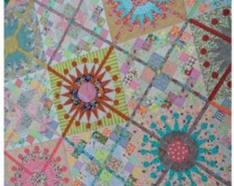 Queen's Cross Quilt Pattern by Jen Kingwell Designs