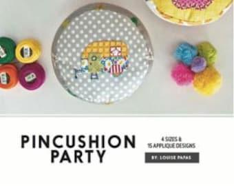 Pincushion Party Pattern by Louise Papas for Jen Kingwell Designs