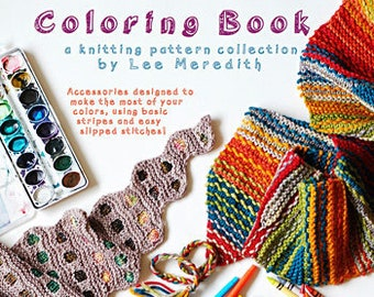 Coloring Book - A Knitting Pattern Collection by Lee Meredith