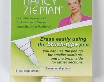 Brush Type Eraser Pen by Clover w/ Nancy Zieman - #9523