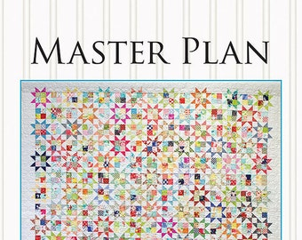 Master Plan Quilt Pattern by Miss Rosie's Quilt Co. - Print Pattern