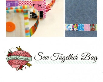 Sew Together Bag Pattern by Sew Demented - Print Pattern
