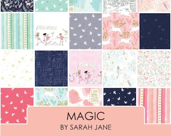 Magic by Sarah Jane -  1/2 Yard Bundle - cotton quilt fabric